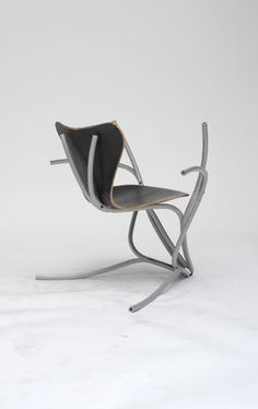 Martino Gamper. looks like a chair and an elliptical trainer mated while you were out one day. and this is the result.