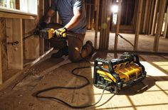 DeWalt's New Portable Power Station Gives Corded Tools Some Room to Roam