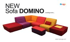 domino...awesome sofa from barcelona | oruga design yourself ... - Design Polstersofas Oruga Leicht
