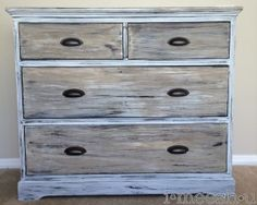 OBSESSED with this blog!!  :: getting a restoration hardware look with chalk paint