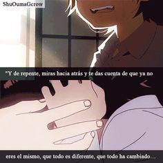 Todo sucede por alguna razon #Anime #Frases_anime #frases