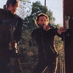 Daryl and Rick- brother for life!!!