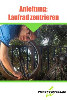 Laufrad zentrieren, damit reparierst du den Fahrrad Achter. Mtb, Bicycle, Education, Sports, Shopper, Garage, Homemade, Fitness, Veils