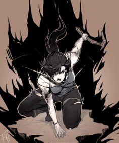 "Tomb Raider Reborn contest, Second Place: ""+Lara"" by KatieMiriL.deviantart.com"