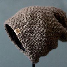 Crochet PATTERN Voyager Slouchy Crochet Hat by PrettyDarnAdorable