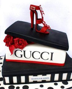 Gucci shoe box and shoe