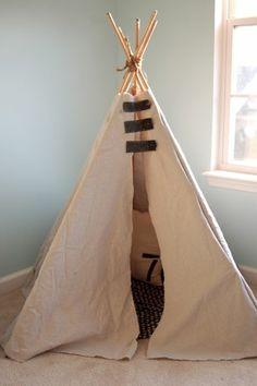 How to make a teepee.