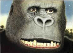 Anthony Browne: King Kong, illustration by Anthony Browne