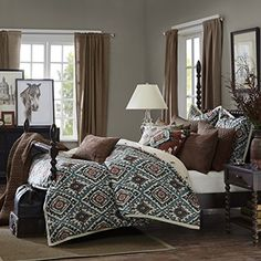 Madison Park Signature 9pc SEDONA Comforter Set (King) Ma...