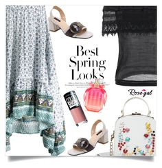 """""""Rosegal  78"""" by nejra-l ❤ liked on Polyvore featuring H&M, Victoria's Secret, Maybelline, Summer, dress, promotion and rosegal"""