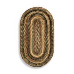 Capel® Eaton Oval Braided Rug in New Leaf - BedBathandBeyond.com
