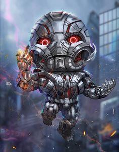 Ultron by kuchu | Fan Art | 2D | CGSociety
