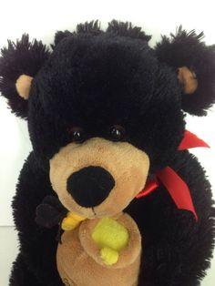 "Burton Honey Bear Stuffed Animal Plush 14"" Teddy Bear For My Honey #Burton"