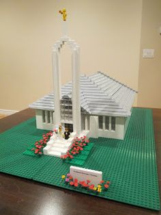 Build In Holy Places: a family builds the LDS Temples from Legos; what a great project!
