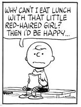 Happiness, red hair, Charlie Brown