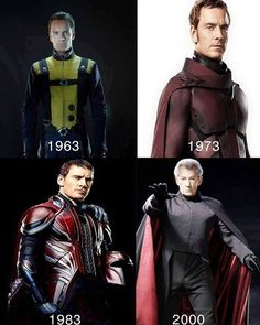Because when youre old you cant afford good suits anymore. #xmen #magneto…