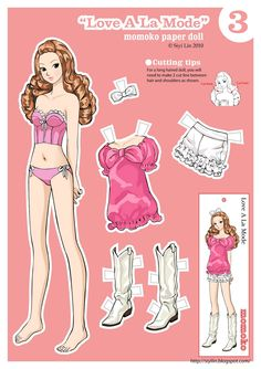 (⑅ ॣ•͈ᴗ•͈ ॣ)♡                                                            ✄The Making of Paper Dolls: Free Download