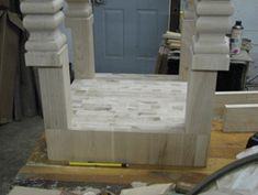 How to Build a Butcher Block Table Maple Butcher Block, Butcher Block Tables, Block Plan, Floor Chair, Restoration, Van, Diy Crafts, Building, Embroidery