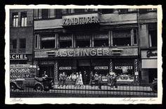Konditorei Aschinger am Zoo 1936