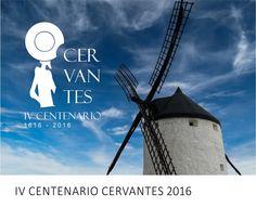 Diseño para el IV Cenenario de Cervantes 2016   http://www.limagemarketing.es/portfolio/iv-centenario-cervantes/   L'image Marketing   Agencia de Publicidad y Comunicación en Sevilla