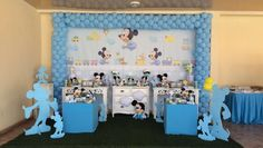 Mesa temática Mickey baby by Concha Requinte