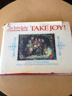 Take Joy TASHA TUDOR hardcover 1966 Christmas book by CraftyJackys