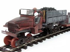 Ozsteam On30 Heavy Railtruck Kit
