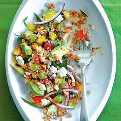 Spicy Southwestern Tabbouleh - Whole-Grain Salads - Cooking Light