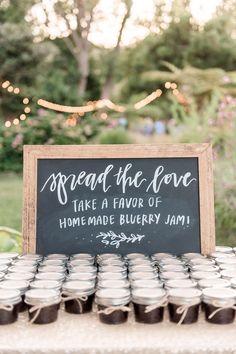 Ideas wedding favors rustic bridal musings for 2019 Wedding Favors And Gifts, Wedding Souvenirs For Guests, Jam Favors, Homemade Wedding Favors, Creative Wedding Favors, Inexpensive Wedding Favors, Beach Wedding Favors, Bridal Shower Favors, Eco Wedding Ideas