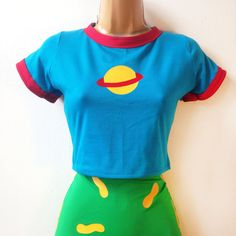 Chuckie Finster Rugrats Crop Top // Top Only Chuckie Finster Costume Shirt Chuckie Rugrats, Cartoon Halloween Costumes, Halloween Ideas, Halloween 2019, Halloween Outfits, Halloween Party, Edm Outfits, Cosplay Outfits, Costumes