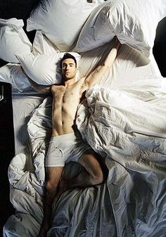 """I will never leave this bed""...not if this man was in it :)"