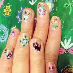 Glitter and Nails - http://yournailart.com/glitter-and-nails/ - #nails #nail_art #nails_design #nail_ ideas #nail_polish #ideas #beauty #cute #love
