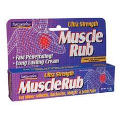 NATUREPLEX MuscleRub Ultra Strength Tube for Minor ArthritisBackacheMuscleJoint Pain 15 oz 2 Piece >>> For more information, visit image link.