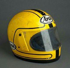 Joey Dunlop Arai helmet