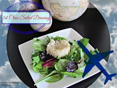 1ST CLASS SALAD DRESSING (Shiso dressing from Northwest Airlines first class salads served on flights to Japan)