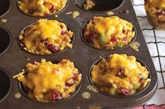 Cheesy Stuffing Cups recipe. I made these for my daughter's school Thanksgiving lunch. Everyone loved them and I had several people ask me for the recipe before the lunch was over. Soooo yummy!