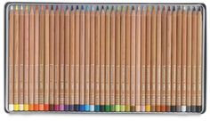 Shop Caran d'Ache Luminance Colored Pencils and Sets at Blick. These pencils combine the smoothness of a permanent lead with excellent lightfastness. Green And Grey, Black And Brown, Violet Brown, Caran D'ache, Yellow Springs, Bismuth, Green Turquoise, Spring Green, Wood Boxes