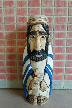 Jeremiah the Prophet wood carving hand by MADellingerCarving #etsyspecialt #integritytt