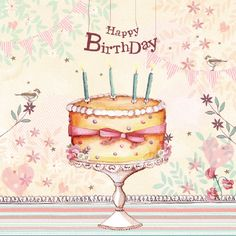'Little Pink Daisy Collection' Happy Birthday Flower, Happy Birthday Pictures, Happy Birthday Quotes, Happy Birthday Greetings, Birthday Greeting Cards, Birthday Fun, Birthday Cakes, Anniversary Greetings, Happy Anniversary