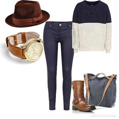 Casual autumn 2012 | Women's Outfit | ASOS Fashion Finder