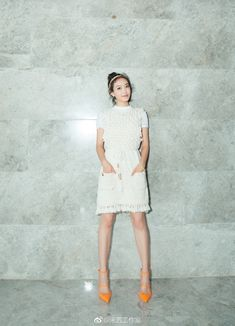K-fashion-beauty-lifestyle : Photo Song Qian, Victoria Song, Marie Claire, Fashion Beauty, White Dress, Lifestyle, Ulzzang, Kdrama, Dresses
