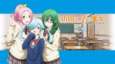 Anime Yamada-kun And The Seven Witches Noa Takigawa Meiko Otsuka Maria Sarushima Wallpaper