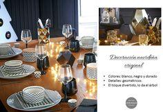 2 mesas y propuestas para navidad http://www.decoracionpatriblanco.es/2015/12/mesas-de-navidad.html