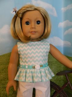 American Girl doll clothes 18 inch doll clothes by SewCuteJune, $12.99