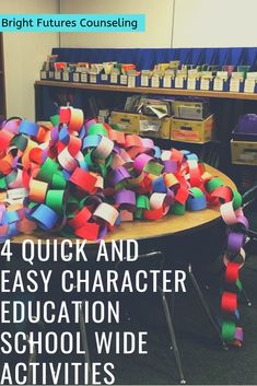 Character education activities for elementary and middle school. Bring the whole school together with these 4 quick and easy character education activities inlcuding a flashmob, photo booth, fun run, and banner pledge. activities for middle school Elementary Education Activities, Anti Bullying Activities, Bullying Lessons, Middle School Activities, Middle School Counseling, Elementary School Counselor, Kindness Activities, Educational Activities, School Fun