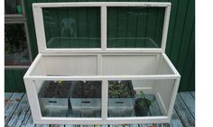 greenhouses made of cast off materials! sooo need to do this.
