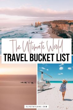 Ultimate list of bucket list destinations around the world and best places to see before you die! #bucketlist #travel #worldtravel | places to travel bucket lists | world travel bucket list destinations | best travel bucket list ideas | amazing places to travel | beautiful places in the world | travel wanderlust inspiration | europe bucket list ideas | dream travel destinations | beautiful travel destinations | must do bucket list ideas | places to travel list | best travel destinations
