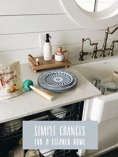 Simple Changes For A Cleaner Home - The Inspired Room