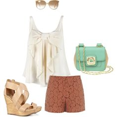 dressy summer outfit