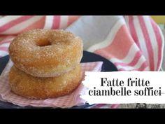 Fatte fritte Ciambelle Soffici - Mille 1 Ricette Friends Recipe, Frittata, Kitchen Tips, Bagel, Doughnut, Grande, Sweet Tooth, Muffin, Community